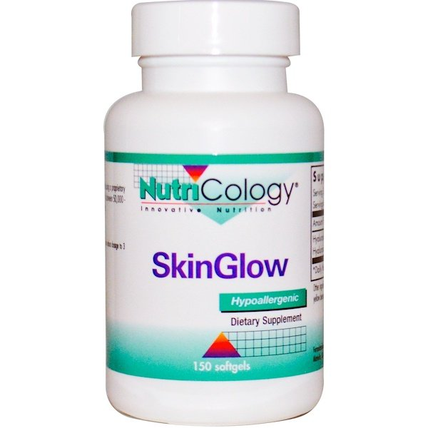 Nutricology, SkinGlow, 150 Softgels (Discontinued Item)
