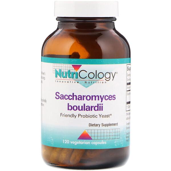 Nutricology, Сахаромицеты Буларди, пробиотические дрожжи, 120 вегетарианских капсул