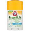 Arm & Hammer, Essentials, дезодорант, с натуральными дезодорирующими компонентами, очищающий, 28 г (1,0 унции)