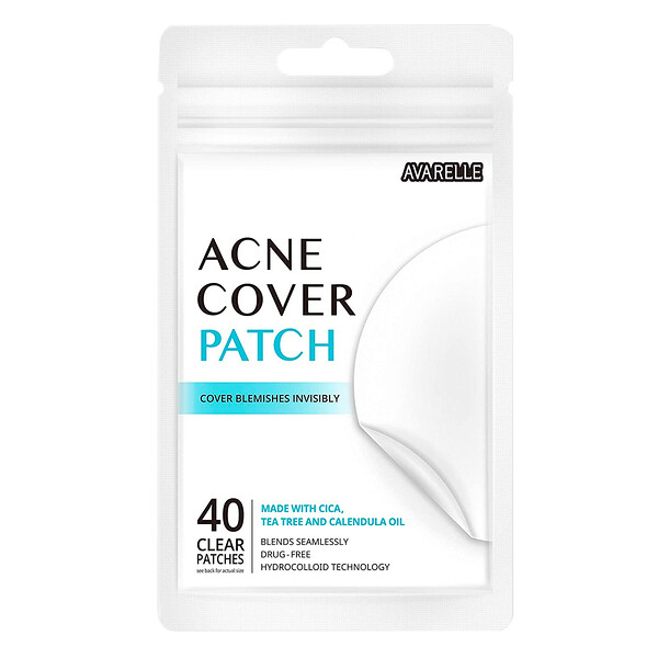 Acne Cover Patch, 40 Individual Patches