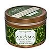 Aroma Naturals, Soy VegePure, свеча для поездок, жемчужина спокойствия, апельсин, гвоздика и корица, 2,8 унции (79,38 г)