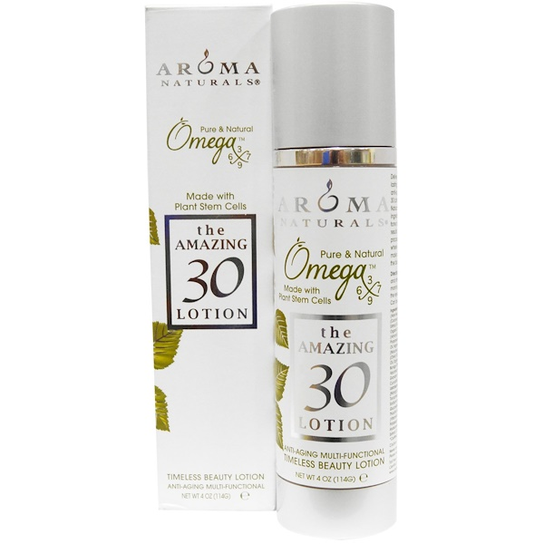 Aroma Naturals, the AMAZING 30, Lotion, 4 oz (Discontinued Item)