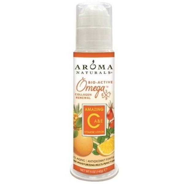 Aroma Naturals, Лосьон с витамином С, Amazing, обогащен витаминами A и Е, 5 унций (142 г) (Discontinued Item)