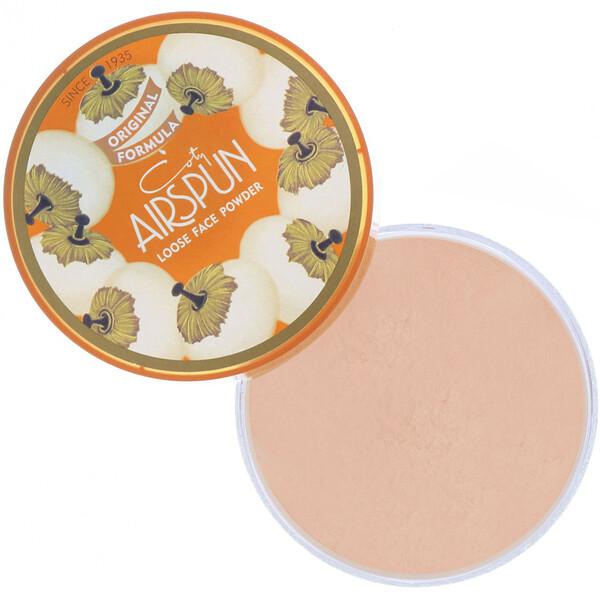 Airspun, Рассыпчатая пудра для лица, оттенок «Розовый беж» 070-22, 65г (Discontinued Item)
