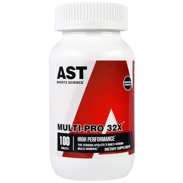 AST Sports Science, Multi PRO 32X, 100 таблеток (Discontinued Item)