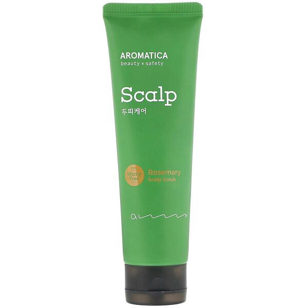 Aromatica, Rosemary Scalp Scrub, 5.8 oz (165 g)