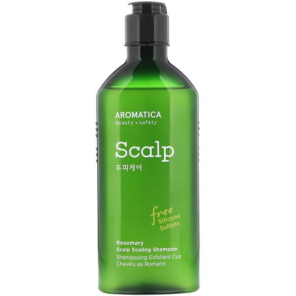 Aromatica, Rosemary Scalp Scaling Shampoo, 8.4 fl oz (250 ml)