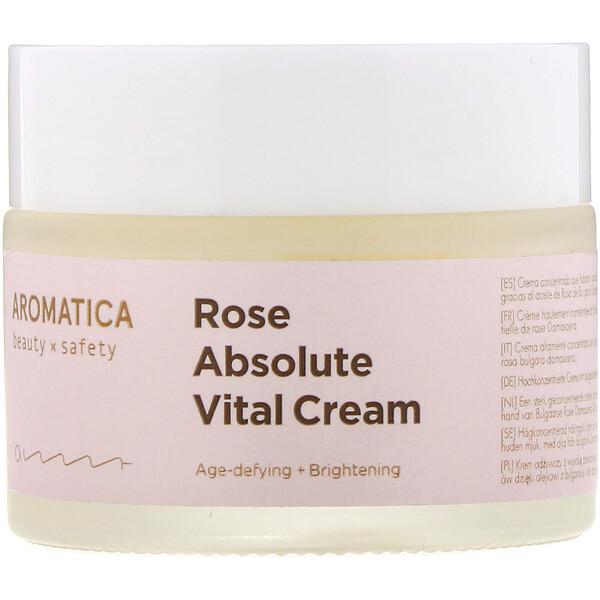 Aromatica, Питательный крем с абсолютным маслом розы, 50г (1,7унций) (Discontinued Item)
