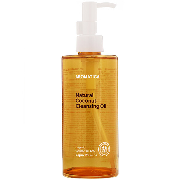 Aromatica, Natural Coconut Cleansing Oil, 10.1 fl oz (300 ml) (Discontinued Item)