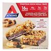 Atkins, шоколадный батончик с арахисовым маслом со вкусом претцелей, 5 батончиков, весом 48 г (1,69 унции) каждый