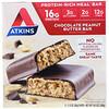 Atkins, Батончик для перекуса, шоколадно-арахисовое масло, 5 батончиков, 2,12 унции (60 г) каждый