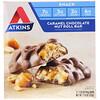 Atkins, Карамельно-шоколадный палочки с орехами, 5 батончиков, 1,55 унц. (44 г) каждый