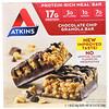 Atkins, Батончик с гранолой и шоколадной стружкой, 5 батончиков, весом 48 г (1,69 унции) каждый