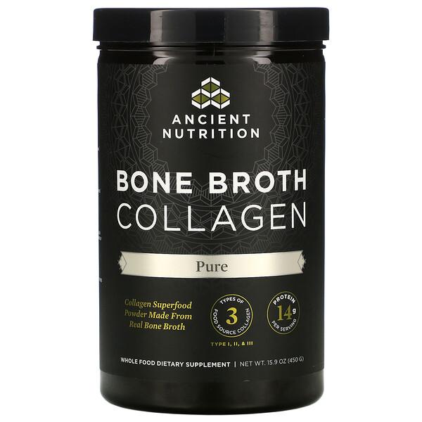 коллаген из костного бульона, без добавок, 450г (15,9унции)