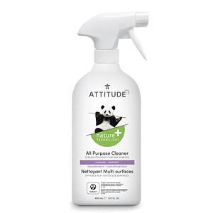 ATTITUDE, All Purpose Cleaner, Lavender, 27.1 fl oz (800 ml)