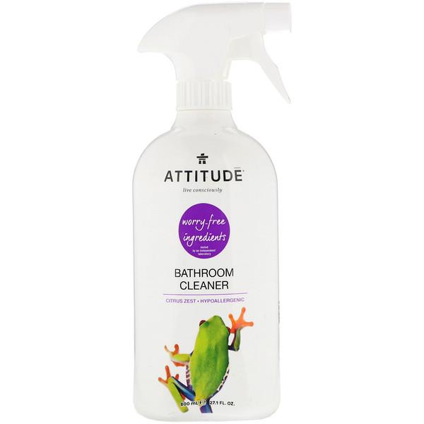 Средство для чистки ванной комнаты, цитрусовый аромат, 800мл (27,1жидк.унции)