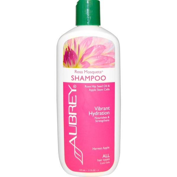 Увлажняющий шампунь с мускусной розой, для всех типов волос, 11 жидких унций (325 мл)