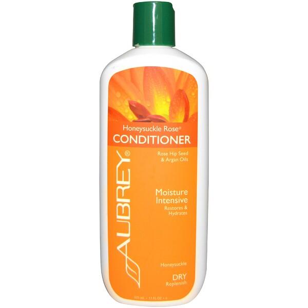 Кондиционер с жимолостью и розой, восстановление и увлажнение, для сухих волос, 325 мл (11 унций)
