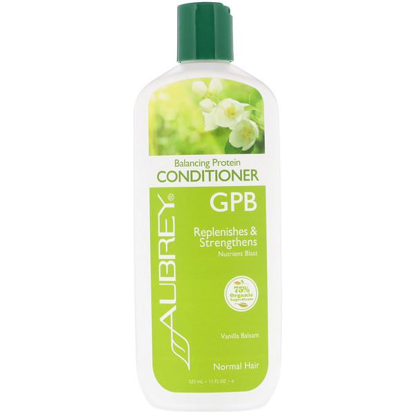 GPB, Balancing Protein Conditioner, Normal Hair, Vanilla Balsam, 11 fl oz (325 ml)