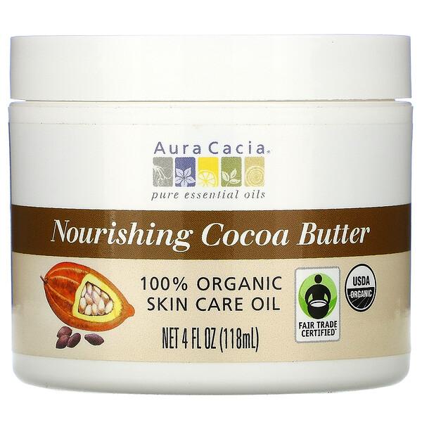Питающее какао масло, 4 жидкие унции (118 мл)