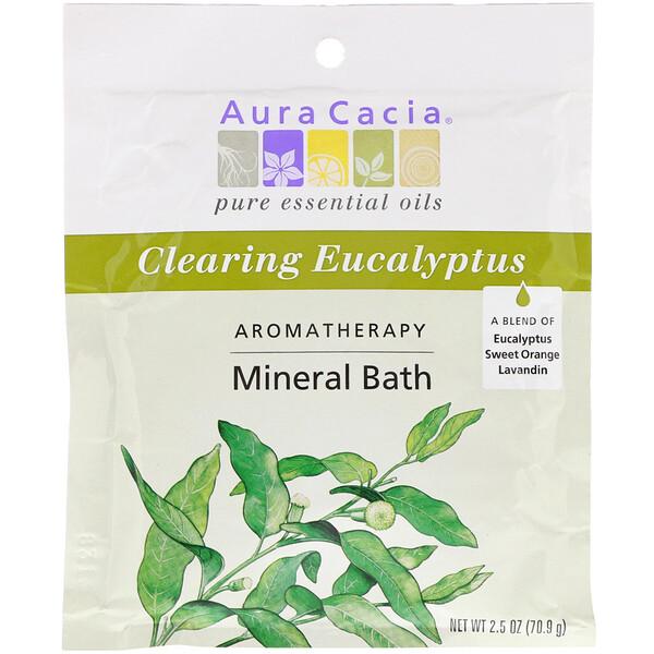 Ароматерапевтическое минеральное средство для ванны, освежающий эвкалипт, 2,5 унции (70,9 г)
