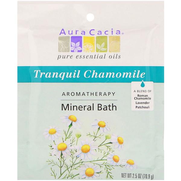 Ароматерапевтическое минеральное средство для ванны, успокаивающая ромашка, 2,5 унции (70,9 г)