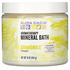 Aura Cacia, Ароматерапевтическое средство для ванны с минералами, успокаивающая ромашка, 16 унций (454 г)