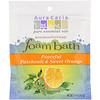 Aura Cacia, Ароматерапевтическая пена для ванны, успокаивающий пачули и сладкий апельсин, 2,5 унции (70,9 г)