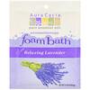 Aura Cacia, Ароматерапевтическая пена для ванны, расслабляющая лаванда, 2,5 унции (70,9 г)