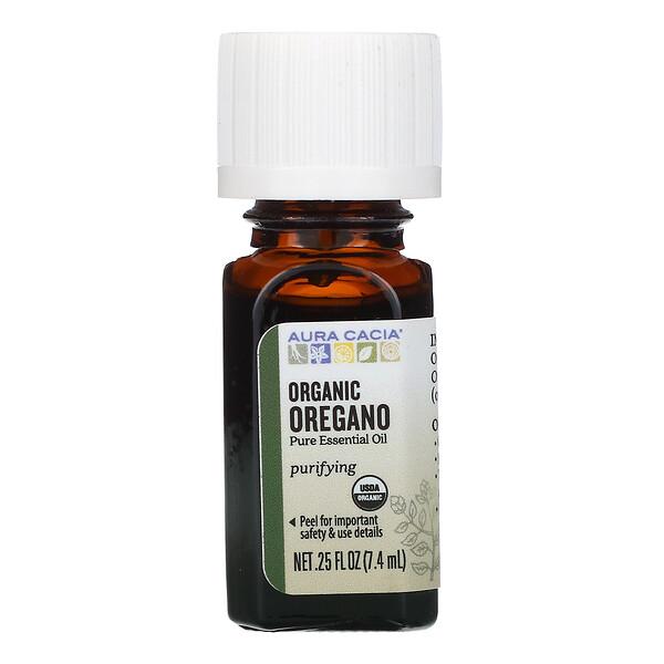 чистое эфирное масло, органический орегано, 7,4мл (0,25жидк.унции)