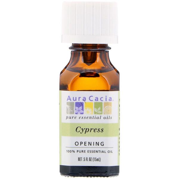 чистое эфирное масло, Кипарис, 0,5 жидкой унции (15 мл)