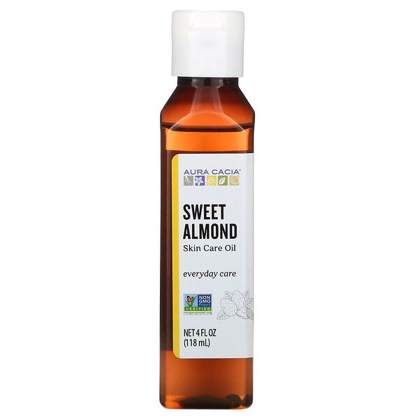 масло для тела, сладкий миндаль, 118мл (4 жидк.унции)