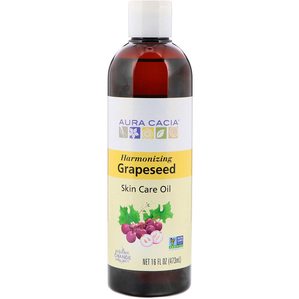 Skin Care Oil, Harmonizing Grapeseed, 16 fl oz (473 ml)