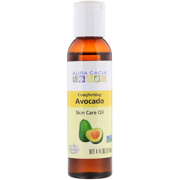 Skin Care Oil, Comforting Avocado, 4 fl oz (118 ml)