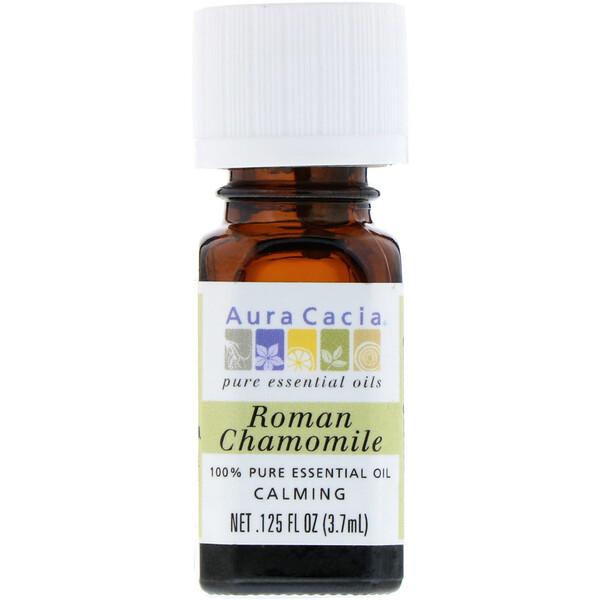 100% Pure Essential Oil, Roman Chamomile, .125 fl oz (3.7 ml)