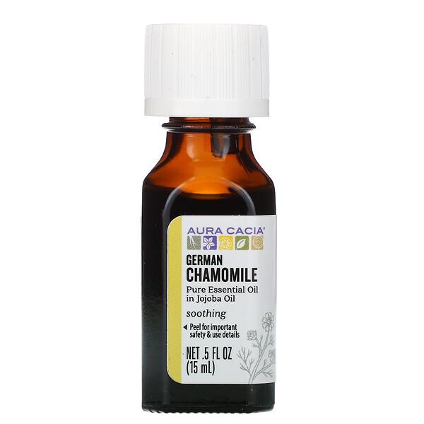 чистое эфирное масло, ромашка, 15мл (0,5жидк.унции)