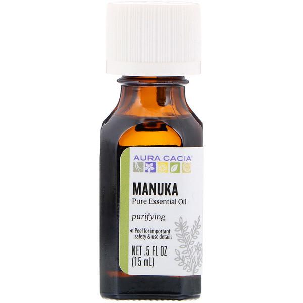 Pure Essential Oil, Manuka, .5 fl oz (15 ml)