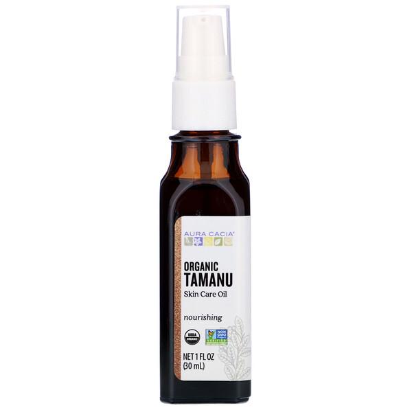 Органическое масло таману, питательное, 30мл (1 жидкая унция)