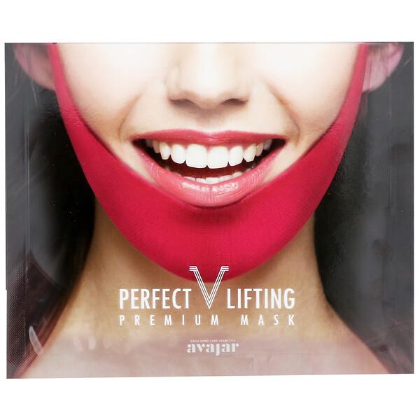 Avajar, Подтягивающая маска Perfect V Lifting Premium Mask, 1 шт (Discontinued Item)