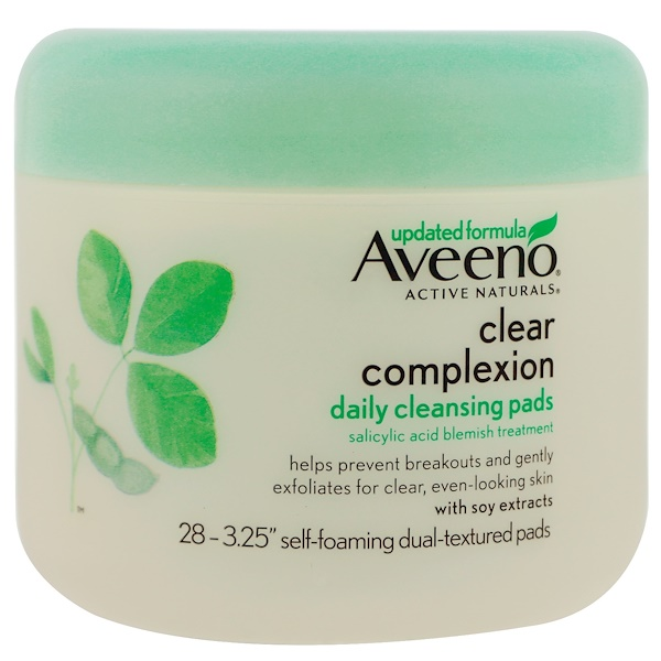Aveeno, Clear Complexion Daily Cleansing Pads, 28 Pads (Discontinued Item)