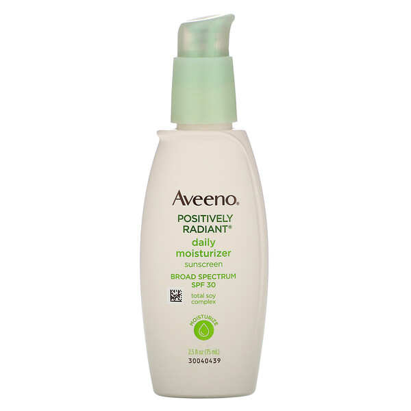 Aveeno, Active Naturals, Positively Radiant Daily Moisturizer, SPF30, 2.5 fl oz