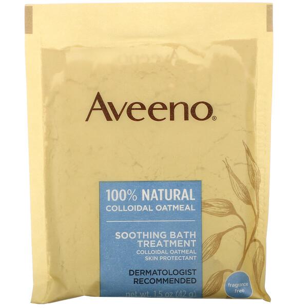 Active Naturals, успокаивающее средство для ванны, без запаха, 8 пакетиков для ванны одноразового применения, 42 г (1,5 унции) каждый.