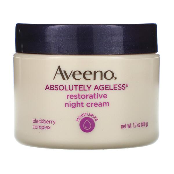 Absolutely Ageless, восстанавливающий ночной крем, 1,7 унции (48 г)