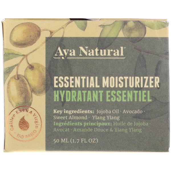 Aya Natural, Базовое увлажняющее средство, 1,7 ж. унц.(50 мл) (Discontinued Item)
