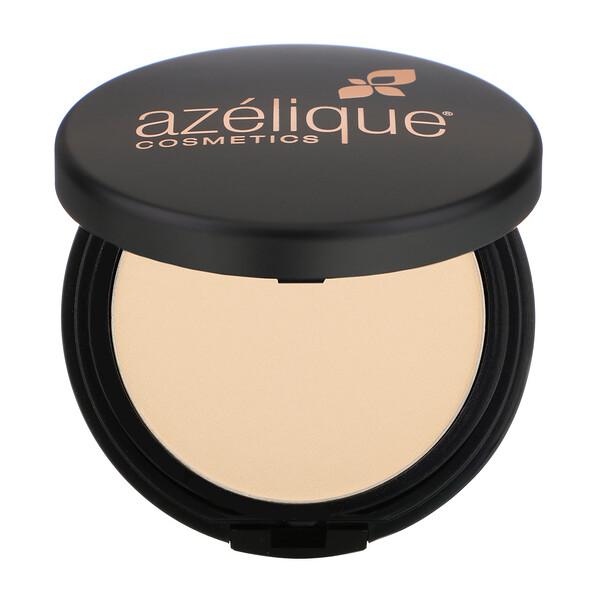 Azelique, Компактная пудра с атласной основой, бледная, этичный, сертифицированный веганский продукт, 0,35 унции (10 г)