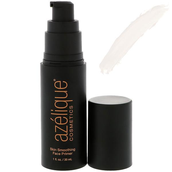 Azelique, Выравнивающий праймер для кожи лица, этичный продукт, сертифицированный веганский продукт, 1 жидкая унция (30 мл)