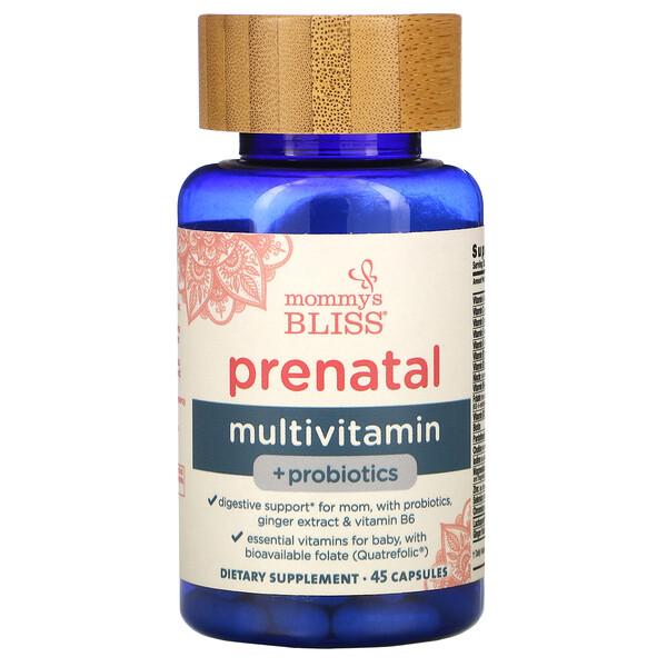 Prenatal Multivitamin + Probiotics, 45 Capsules