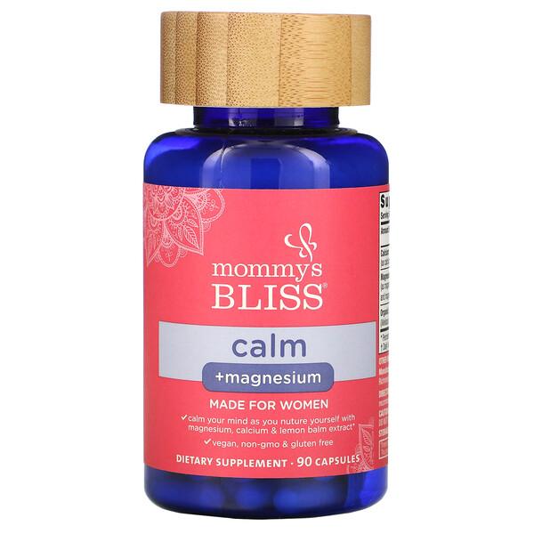 Calm + Magnesium, For Women, 90 Capsules