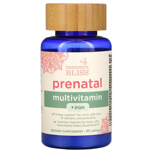 Prenatal Multivitamin + Iron , 45 Capsules
