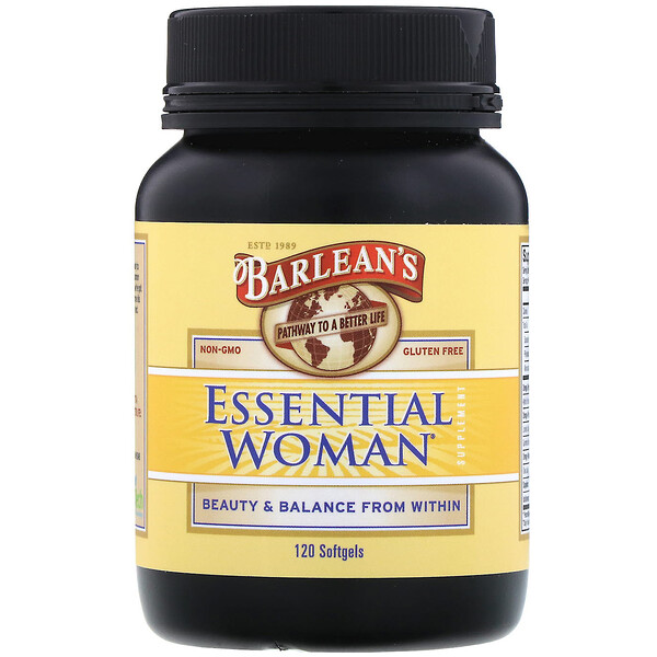 Essential Woman Supplement, 120 Softgels